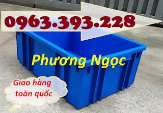 Thùng nhựa đặc B3, sóng nhựa bít, thùng nhựa đựng linh kiện, hộp nhựa công nghiệ A69635436eb08ceed5a1