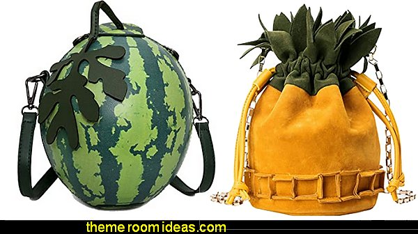 Fruit Shape Handbag watermelon Shoulder Bag pineapple Crossbody Bag