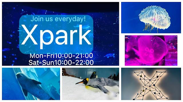 【Xpark】訂票及交通攻略| 華泰名品對面2020開幕的水族館4500坪 彩色水母超可愛