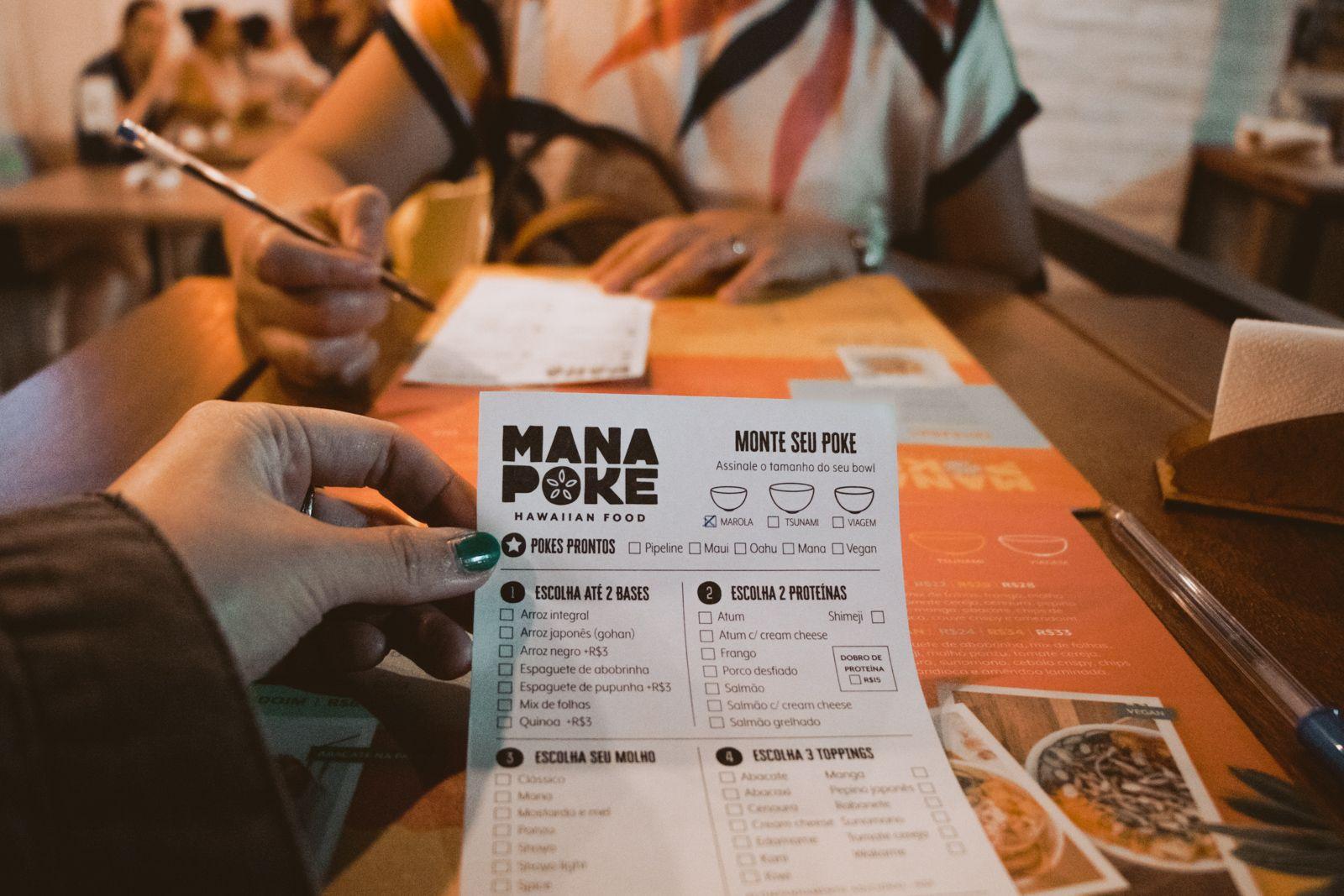 Mana Poke | Campinas - SP monte seu pedido