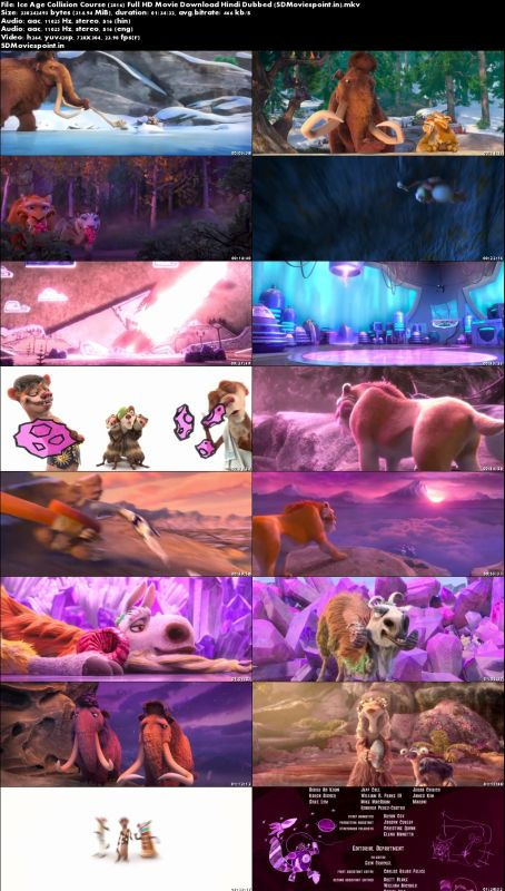 Screen Shots Ice Age Collision Course (2016) Full HD Movie Download Hindi Dubbed