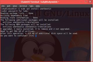 Cara Install UNetbootin Dan Membuat USB Installer Di GNU/Linux