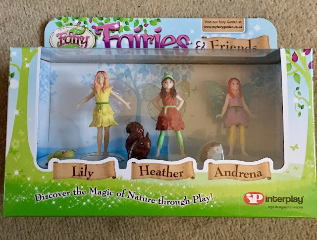 fairy collectibles from Interplay  Fairies and Friends