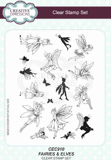 Willowby Woods Fairies and Elves clear stamp set