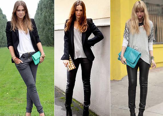 Mulheres segurando bolsas carteiras coloridas