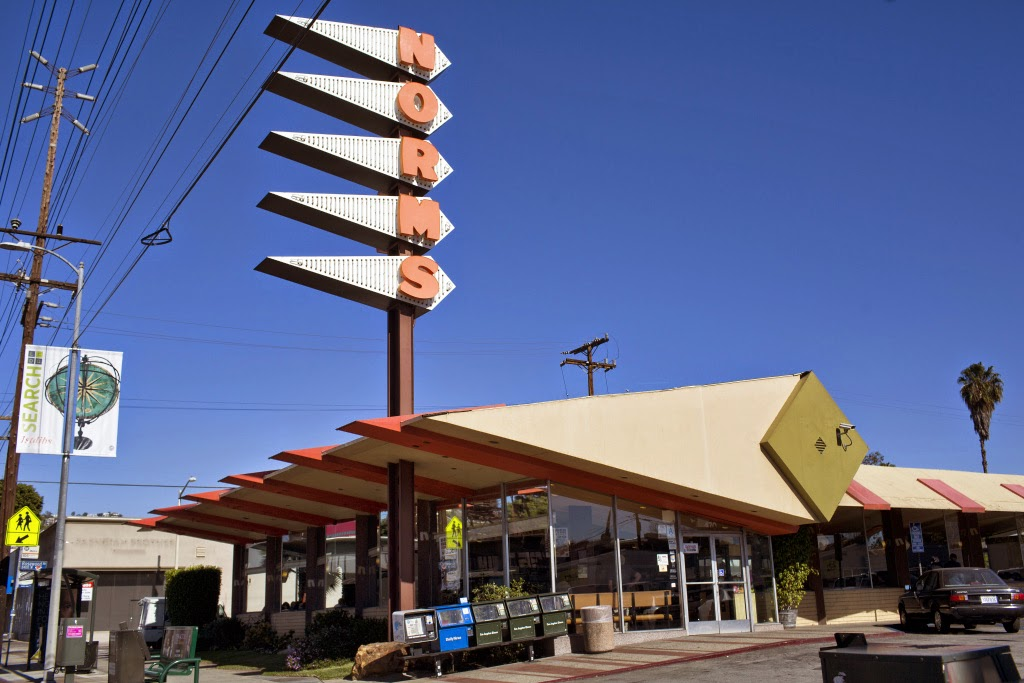 Norms Coffee Shop on La Cienega
