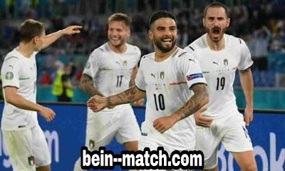 تبدأ إيطاليا مشوارها في بطولة أمم أوروبا 2020 بفوزها الأول على تركيا بثلاثية نظيفة