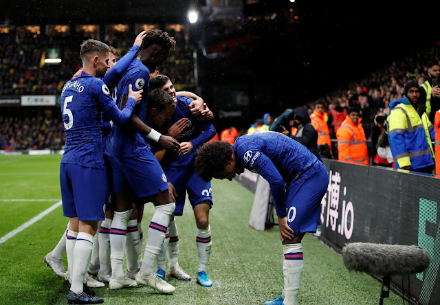 Watford 1-2 Chelsea: Blues show grit in away win - Match highlights