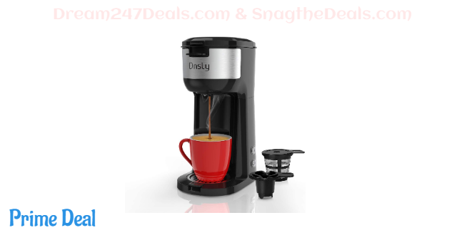 Dnsly Coffee Maker Single Serve 40% OFF