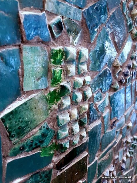 Warszawa Warsaw warszawskie mozaiki Danuta Duszniak
