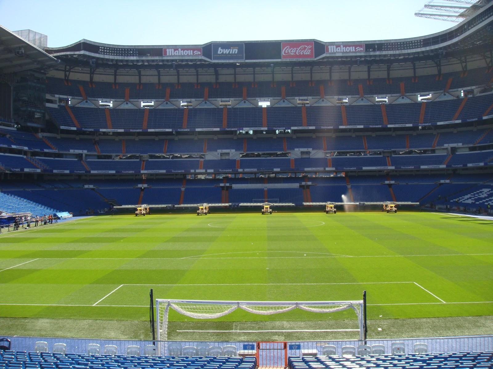 A Socceroo In Germany: Estadio Santiago Bernabéu TOUR