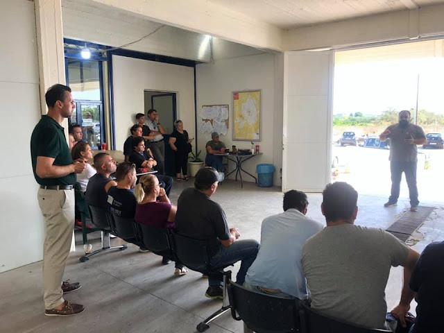Πρώτο μέλημα του Δήμου Άργους Μυκηνών η ασφάλεια και υγιεινή των εργαζομένων
