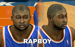 NBA 2K13 Mods - Raymond Felton Cyber Face Patch