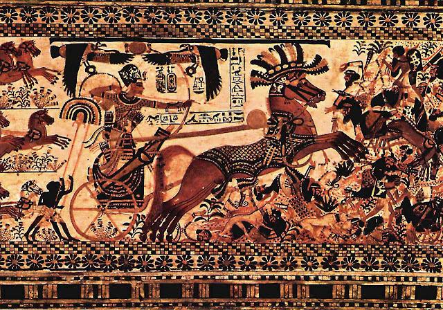 Edom fornecia o cobre para as armas das guerras dos faraós