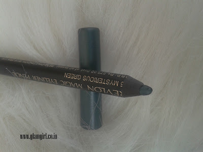 REVLON MAGIC EYE LINER PENCIL MYSTERIOUS GREEN 95 REVIEW