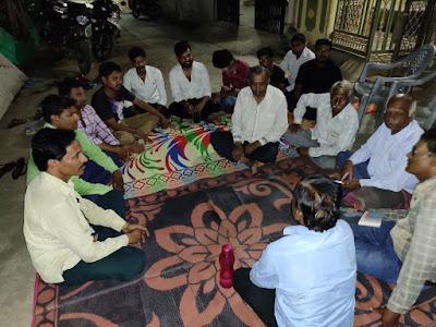 विश्व आदिवासी दिवासी दिवस कि तैयारी को लेकर अंजड़ में आदिवासी समाज जनो की बैठक सम्पन्न  adivasi divas 2019