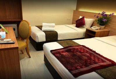 Kamar di Easy Hotel