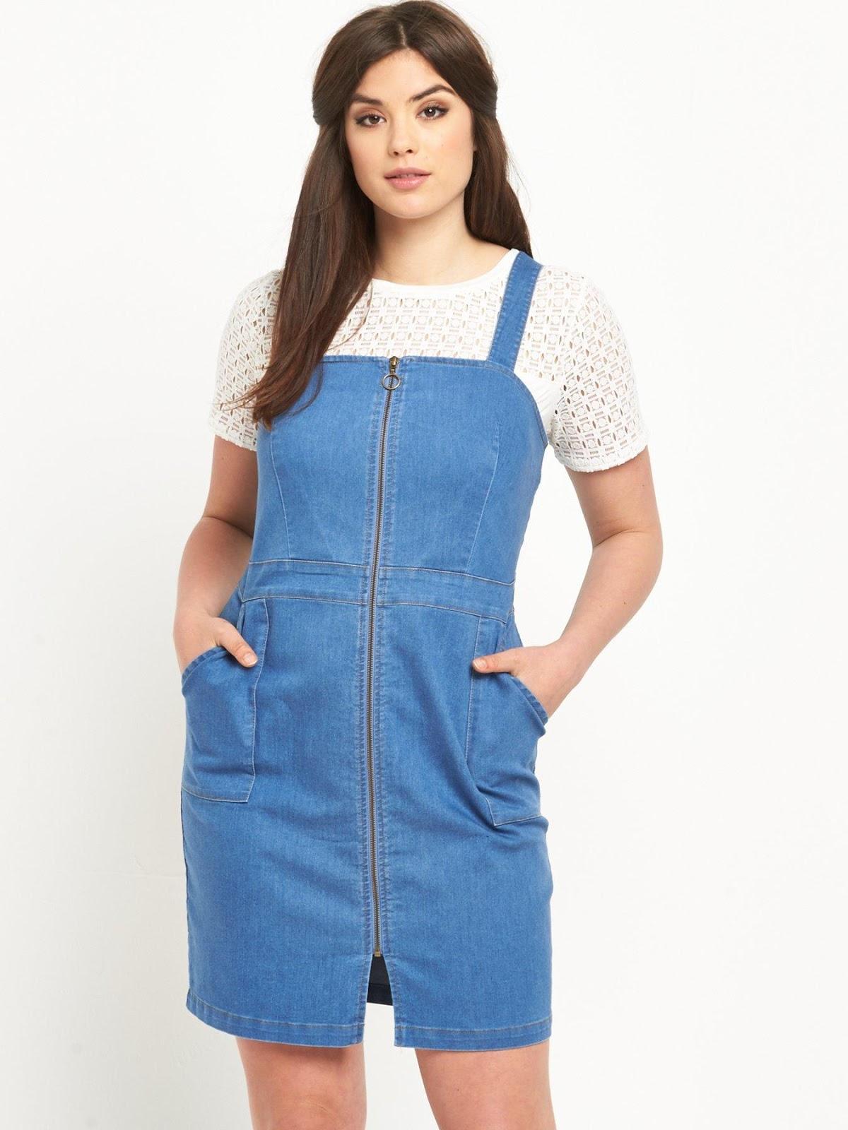 Vestidos casuales para mujeres rellenitas