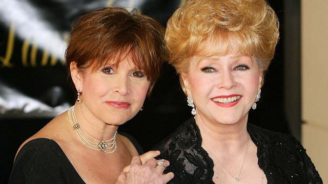 ديبي رينولدز وكاري فيشر Debbie Reynolds and Carrie Fisher