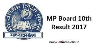 MP Board 10th Results