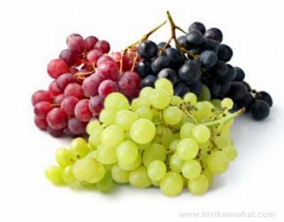 Khasiat Buah Anggur Bagi Kesehatan dan Kecantikan