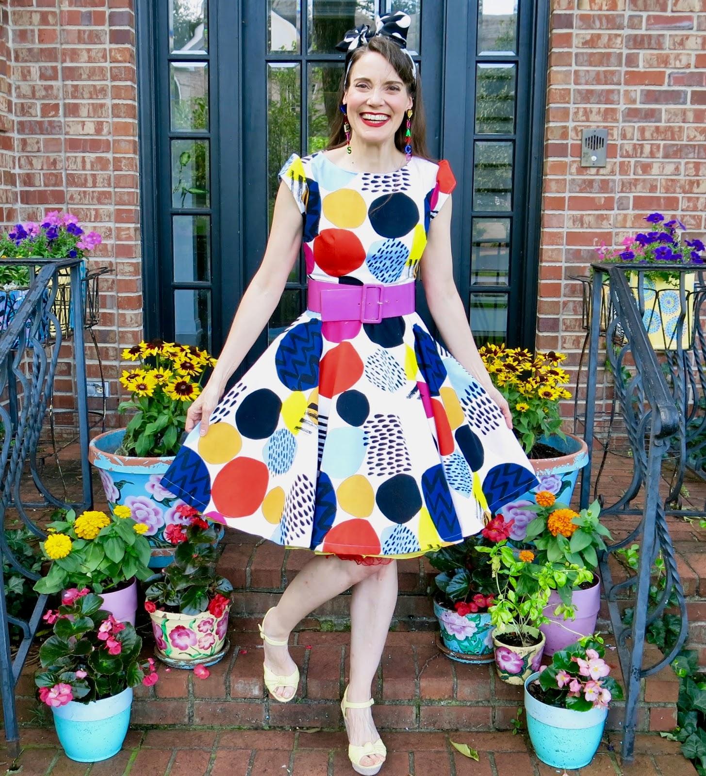 7a209a578 DIY: A Dress for Dot Day!