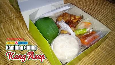 Nasi Kotak Higenis di Lembang