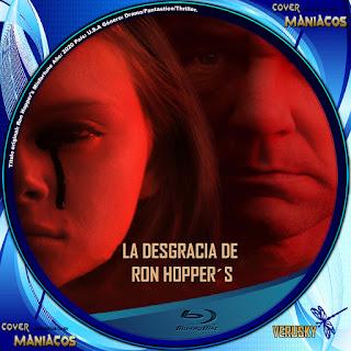 GALLETA LA DESGRACIA DE RON HOPPER´S - RON HOPPER´S MISFORTUNE 2020[COVER BLU-RAY]