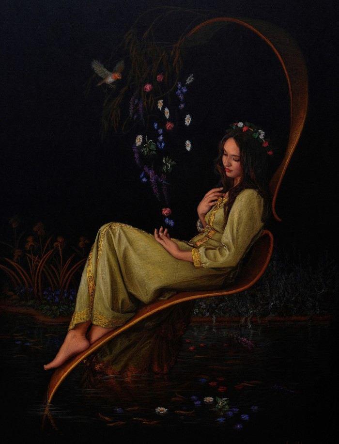 Испанский художник. Angel De Caceres Garcia