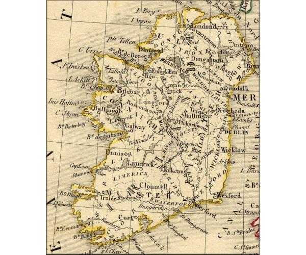 murs construits pendant la famine irlandaise