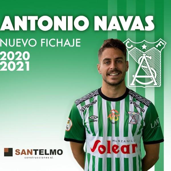Oficial: Atlético Sanluqueño, vuelve Antonio Navas