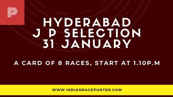 Hyderabad Jackpot Selections 31 January