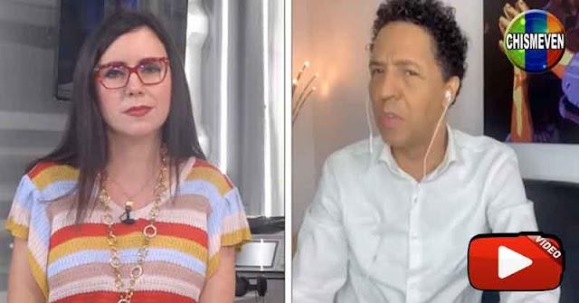 Carla Angola entrevistó a Bonny Cepeda y le dio hasta con el tobo