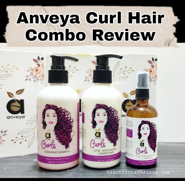 Anveya Curl Hair Combo