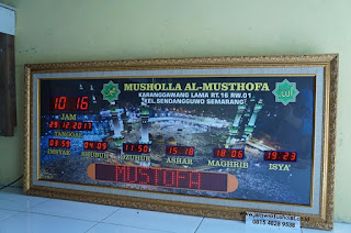 jam running text, jam digital running text, jam sholat running text, jam led running text, running text jam sholat,