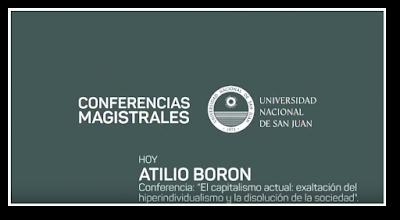 Conferencia Atilio Borón