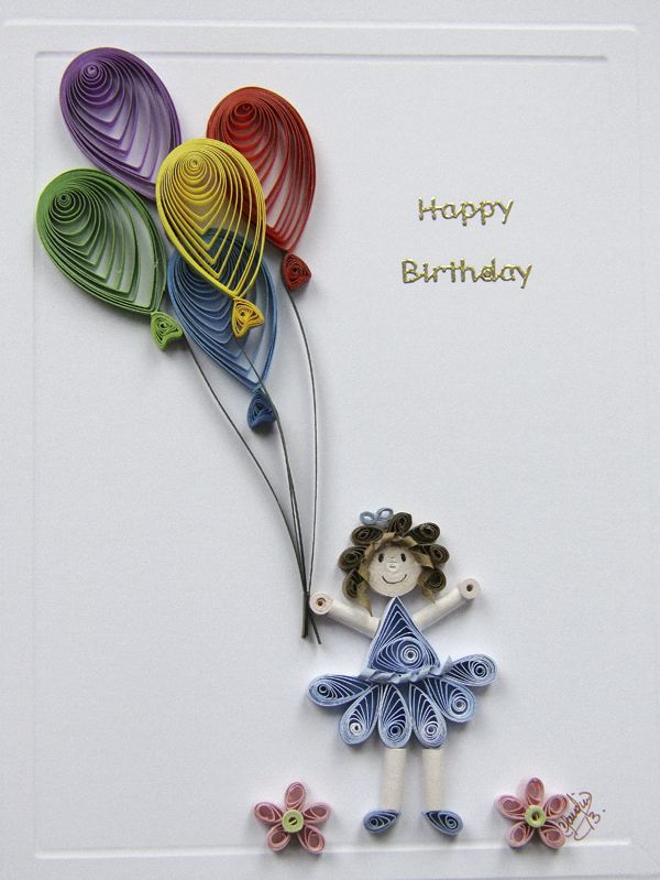 art craft gift ideas paper quilling birthday easy cards