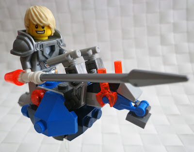 Lance and His Hover Horse