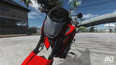 Download, Mod , moto,  Honda CB 250 Twister 2016 para GTA San Andreas, Jogo GTA SA