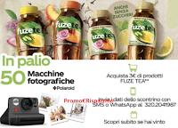 Con Fuzetea ogni momento è unico : vinci 50 Macchine fotografiche Polaroid