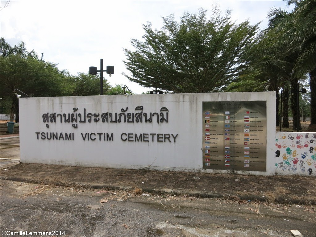 The Ban Namuang tsunami memorial