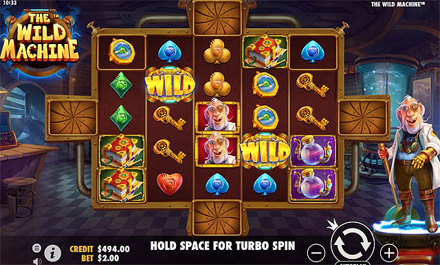 Ulasan Slot Pragmatic Play Indonesia - The Wild Machine Slot Online