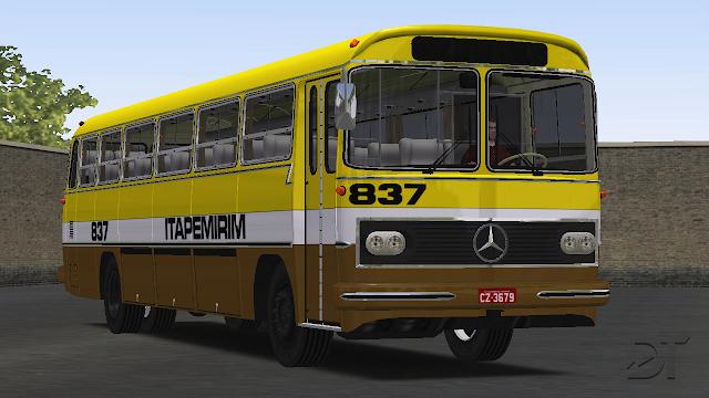 OMSI 2 - Mercedes-Benz Monobloco O-362 Urbano e Executivo