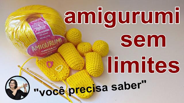 Amigurumi - Curso Avançado de Crochê Grátis com Curso Edinir Croche Club Instagram facebook Online Youtube