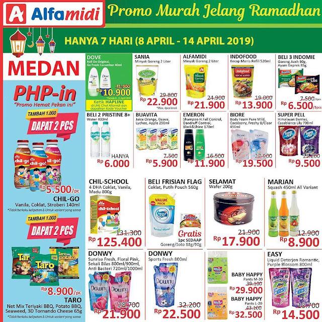 #Alfamidi - #Promo #Katalog Jelang Ramadhan Periode 08 - 14 April 2019