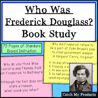 Complete book unit for Who Was Frederick Douglass?