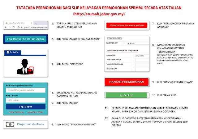 Permohonan Skim Pembiayaan Rumah Mampu Milik Johor Secara Online