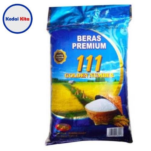 Beras Premium 111 Golden Number 10 Kg