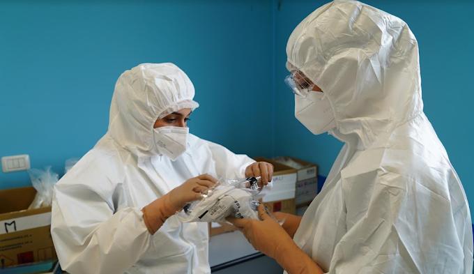Vax Day: a Potenza i primi vaccini a infermiere e 4 medici