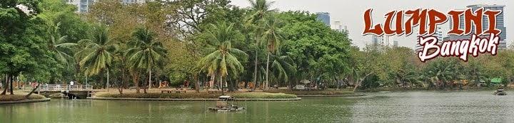 Parque Lumpini en Bangkok, Tailandia